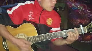 Tsa chij dawb ngob ua neeg seem cover guitar txoov muas