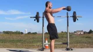 Swings and press #5/20 Dan Johns 10k swing challenge