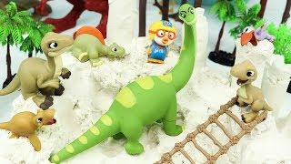 공룡 모래놀이 장난감 공룡무덤 뽀로로 클레이…
