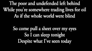 Audioslave *WIDE AWAKE* Lyrical video