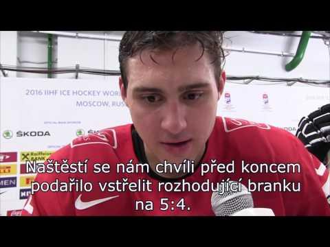 Skupina A: Nino Niederreiter po zápase SUIvLAT