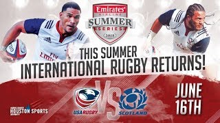 USA vs Scotland 2018