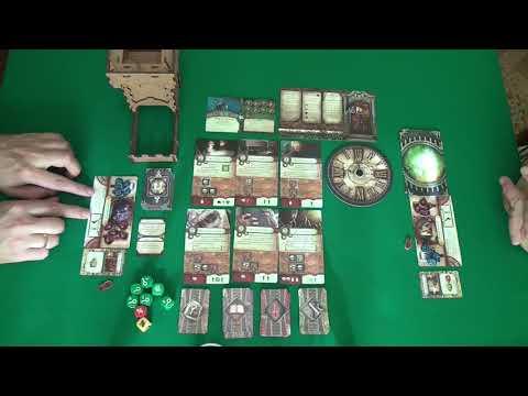 Знак Древних 1/2 часть - играем в настольную игру.