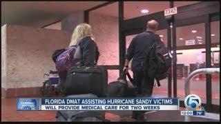 florida dmat assisting hurricane sandy victims