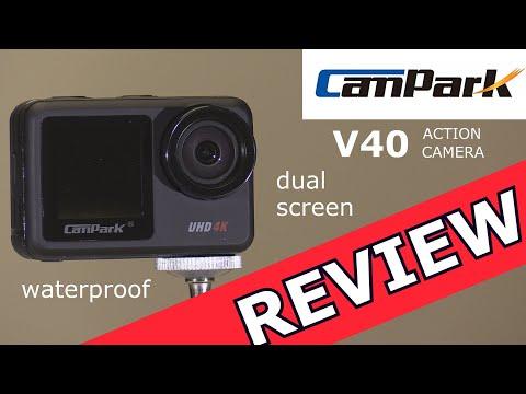 Campark V40 Action Camera Review