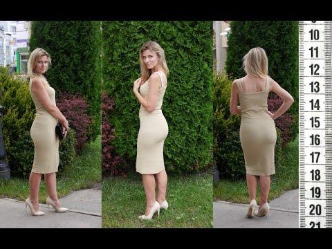Я ШЬЮ: Как сшить платье-чулок как у Ким Кардашьян /I SEW: How to sew Kim Kardashian tube dress