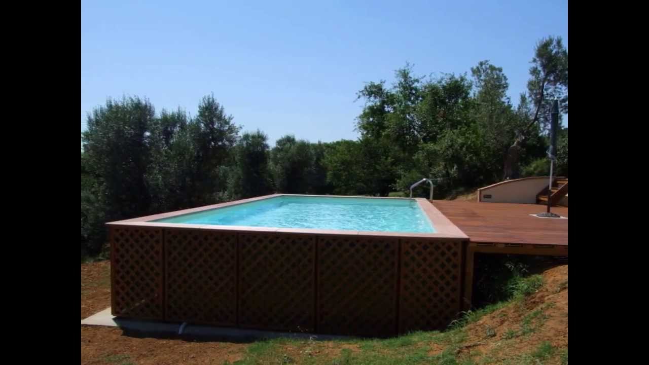 piscine fuori terra ctapiscine it youtube