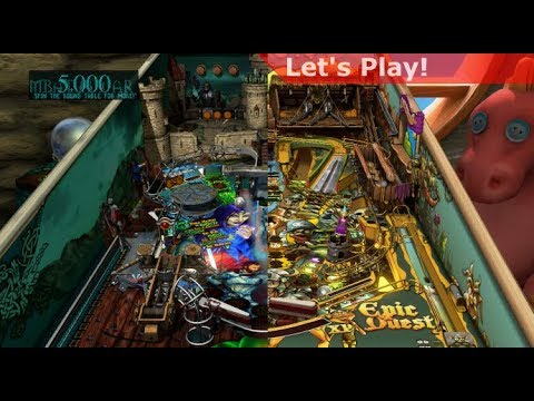 Let's Play: Pinball FX3 [Medieval Pack]