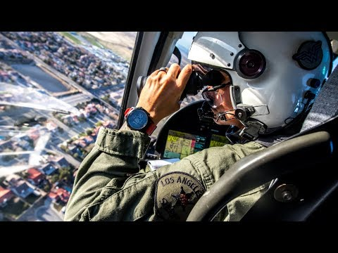Patrolling the skies with the Los Angeles County Sheriff's Department's 'eye in the sky'