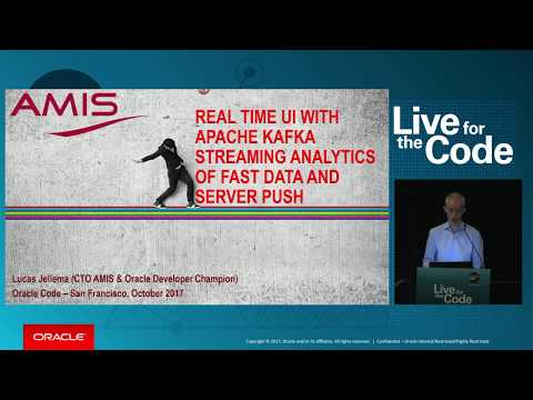 Real Time UI with Apache Kafka Streaming Analytics of Fast Data and Server Push