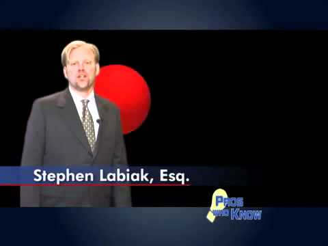 Attorney Stephen Labiak: Pros Who Knows Tip 1