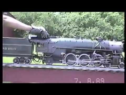 "3/4"" Scale Live Steam Baltimore & Ohio P7 President Washington"
