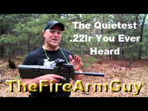 The Quietest .22lr You Ever Heard - TheFireArmGuy