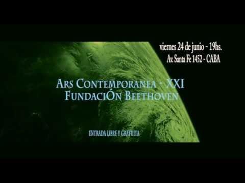 Ars Contemporanea/Fundación Beethoven/Concierto/viernes 24 de junio - 19hs.