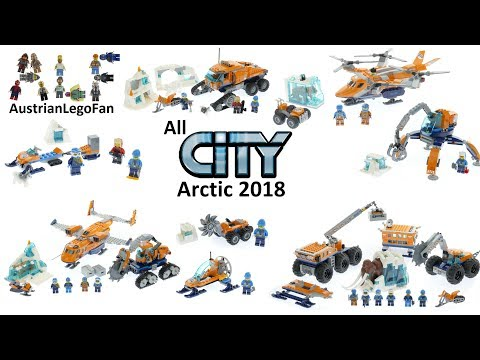 All Lego City Arctic Sets 2018 - Lego Speed Build Review