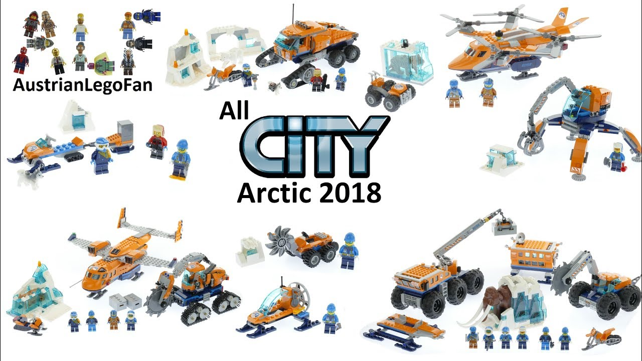 613d8aa84830 All Lego City Arctic Sets 2018 - Lego Speed Build Review - YouTube