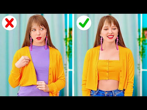 AWESOME CLOTHES AND SHOES HACKS || Funny And Creative Tips For Your Wardrobe by 123 GO! - NewsBurrow thumbnail