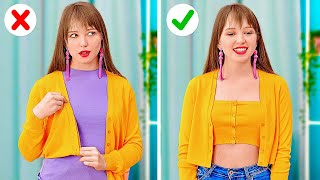 AWESOME CLOTHES AND SHOES HACKS || Funny And Creative Tips For Your Wardrobe by 123 GO!