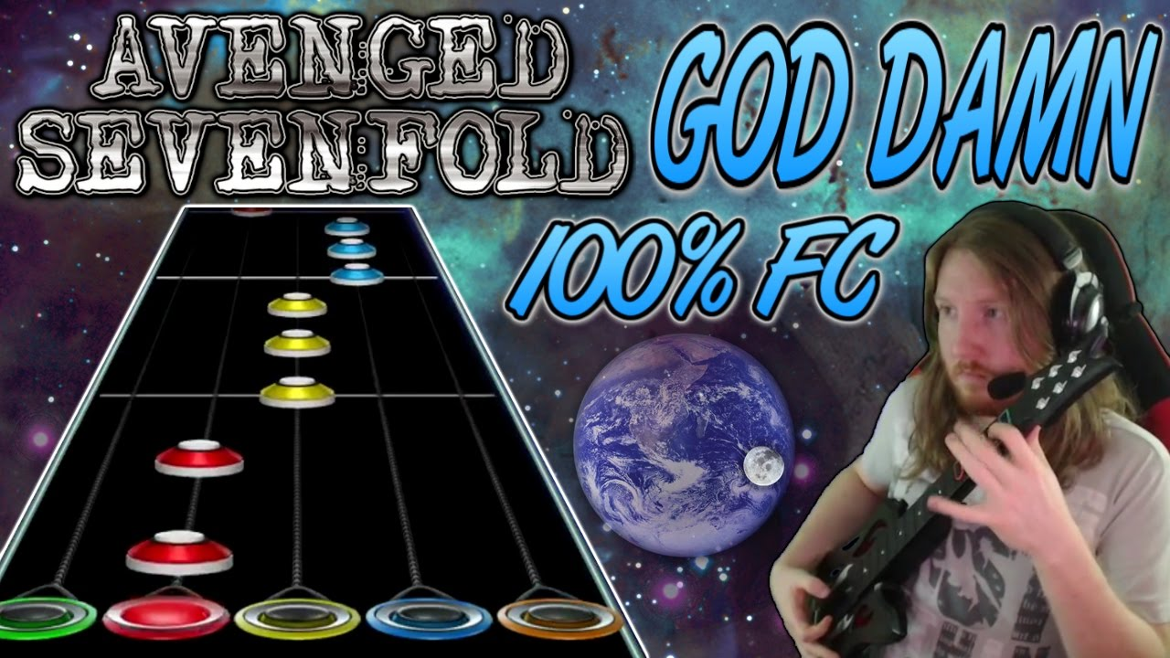 avenged sevenfold god damn 100 fc guitar hero custom the stage youtube. Black Bedroom Furniture Sets. Home Design Ideas