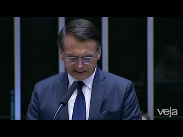 NA ÍNTEGRA: Primeiro discurso de Bolsonaro como presidente