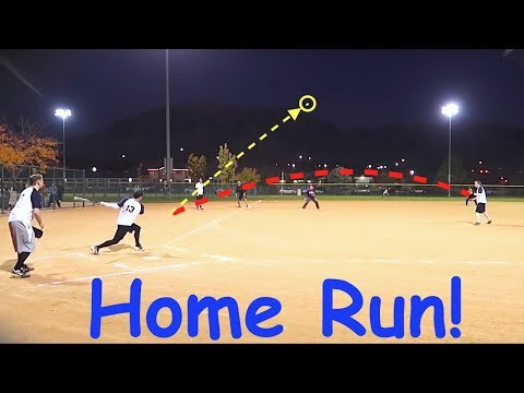 ⚾️Game Winning HOME RUN!🎆