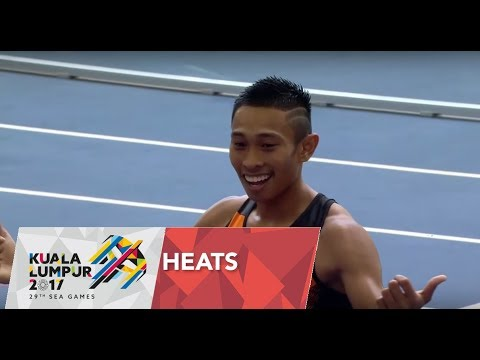 Athletics Men's 100M - Semi - Final 2 | 29th SEA Games 2017