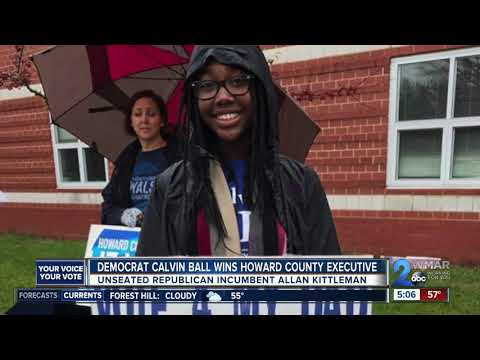 Calvin Ball wins Howard County Executive race