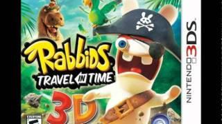 Rabbids Travel in Time 3ds Music: Menu