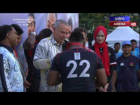 ARC DIV 1 2017: Malaysia 22-9 Sri Lanka   Kejohanan Ragbi Asia Divisyen 1   Astro Arena