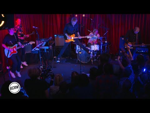 """Franz Ferdinand performing """"Take Me Out"""" live on KCRW"""