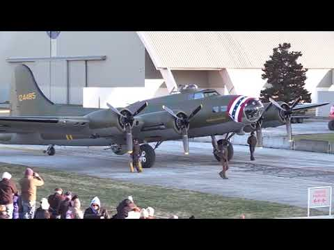 DFN:B-17F Memphis Belle Moves to WWII Gallery at National Museum of the USAF,UNITED STATES, 03.14.18