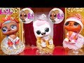 L.O.L. Surprise! Dolls Ballet New Baby Babysit Wrong Clothes Rescue Lil Sisters Transform Unboxed!