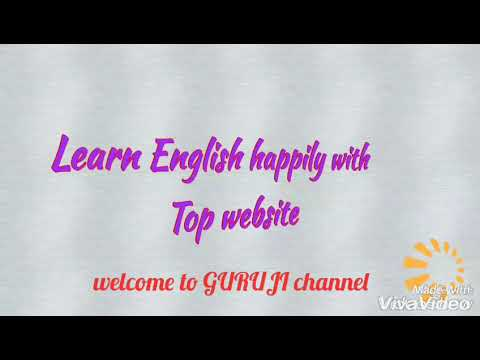 Learn English happily with top website
