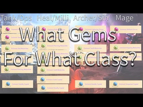 Order And Chaos Online Gems - What Gems For What Class?