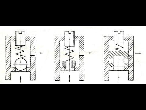 Напорный клапан из старого гидроцилиндра