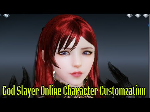 God Slayer Online Character Creation+Intro Gameplay