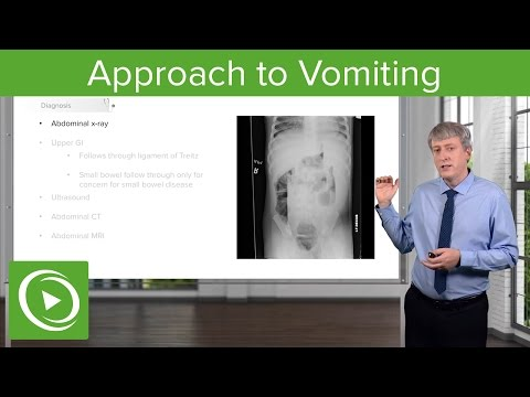 Approach to Vomiting: History  &  Physical Exam Findings – Pediatric Gastroenterology | Lecturio
