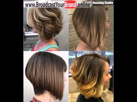 Stacked Bob Cut For Thick Hair Youtube