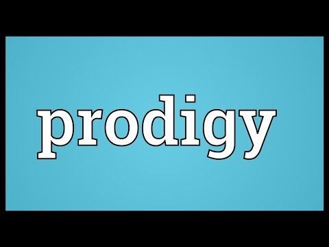 Prodigy Meaning