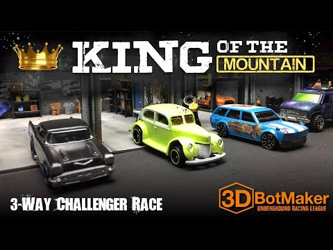 King of the Mountain Group 7 | Custom Hot Wheels Diecast Racing