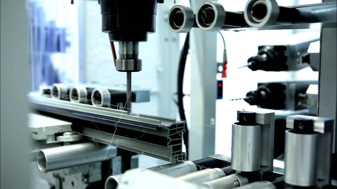 Automatic Aluminium Window And Door Production