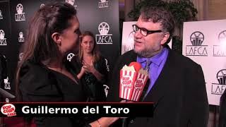 Guillermo del Toro, Shape Of Water Director, at the LAFCA Awards!