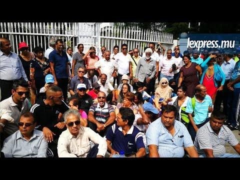 Manifestation spontanée à Port-Louis: «Rann nu nu kass», crient les manifestants
