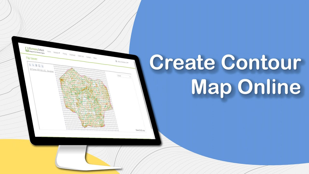 Create Contour Map Online on
