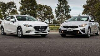 2019 Kia Forte vs 2018 Mazda 3 Sedan