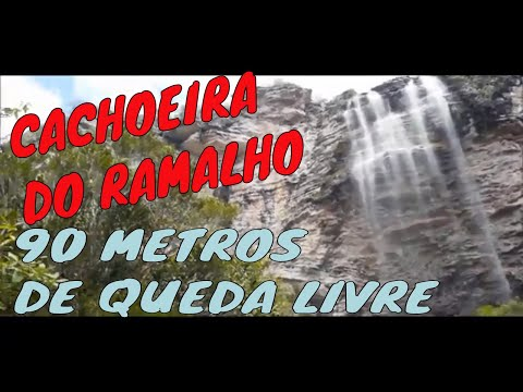 CACHOEIRA DO RAMALHO - ANDARAÍ - CHAPADA DIAMANTINA/BA