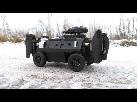 КВАДРОКОПТЕР - ТАНК. ... Ездит, летает, с FPV поворотной камерой (RC flying tank quadcopter)