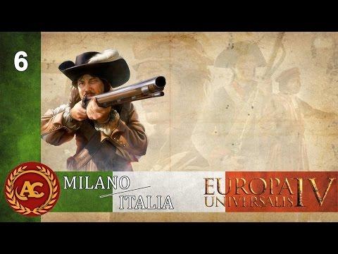 Europa Universalis 4 Art of War - Regno di Milano (6) 1510