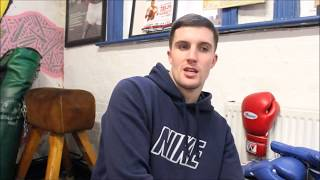 SEAN BEN MULLIGAN; ALL SET FOR RING RETURN NOVEMBER 4TH