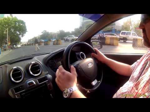 Polish driver in India